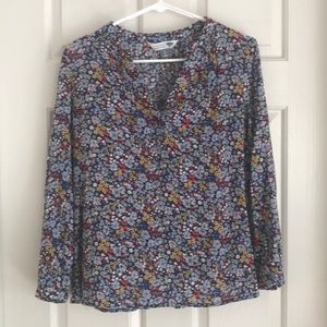 Old Navy Flower Pattern Shirt